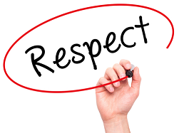 Respect our staff, respect our school